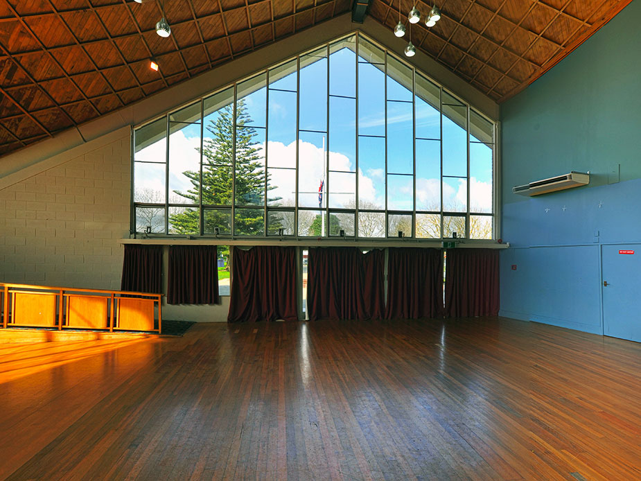Mt Albert War Memorial Hall Main Hall Interior