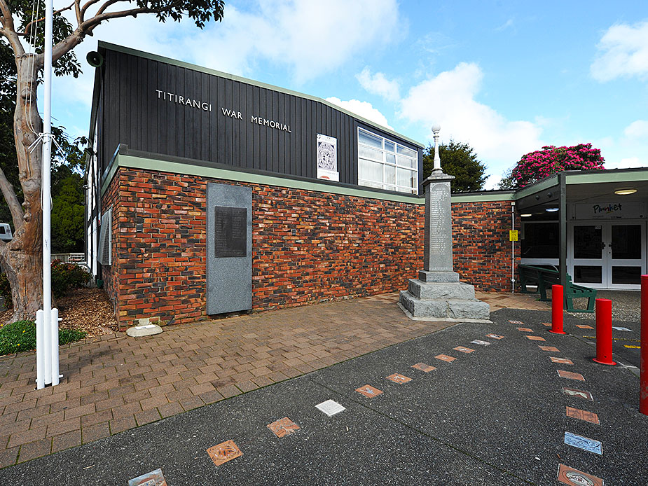 Titirangi War Memorial Hall Exterior 2