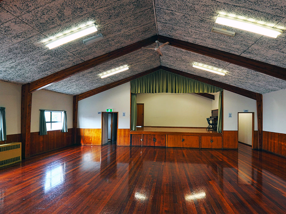 Weymouth Community Hall Interior