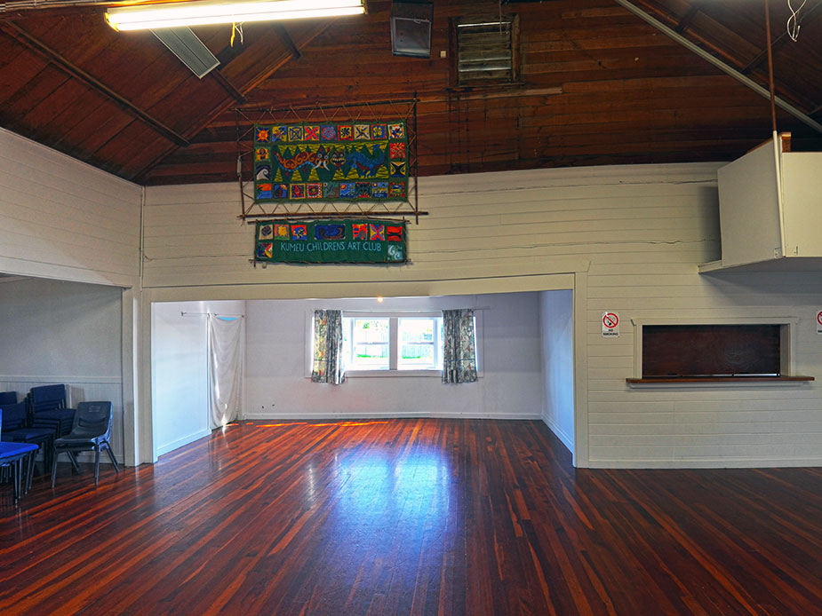 Waimauku War Memorial Hall Interior