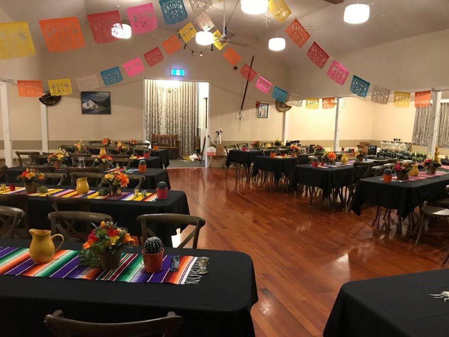 Coatesville Settlers Hall - Event setup 3