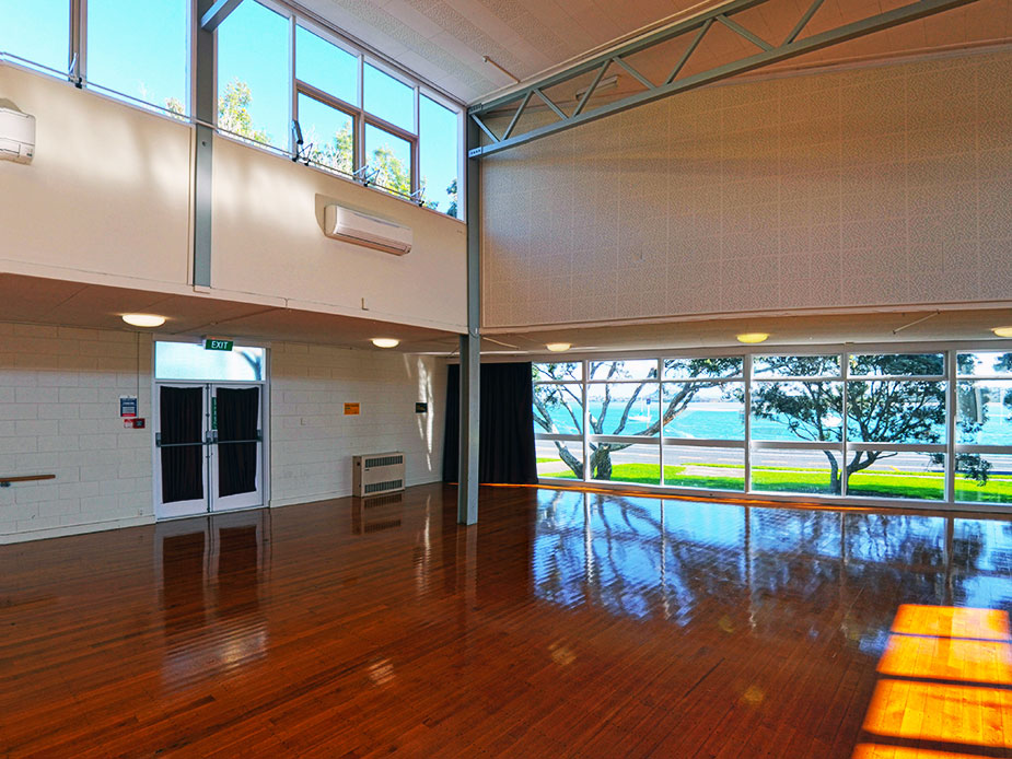 Bucklands and Eastern Beaches Memorial Hall Main Hall Interior