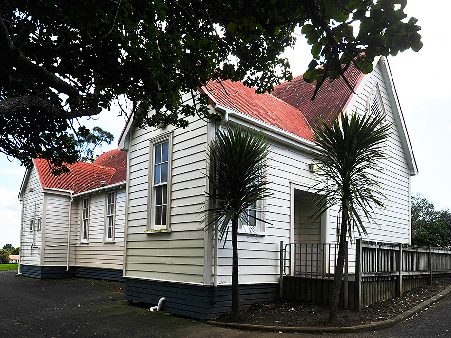 Mangere Old School Hall Exterior