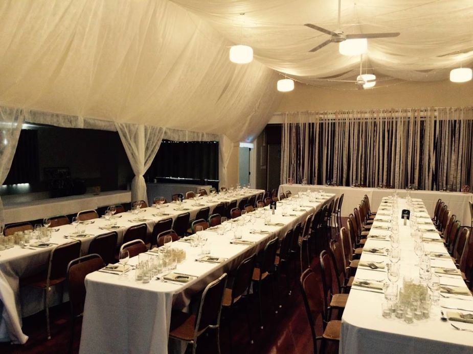Coatesville Settlers Hall - Event setup 2