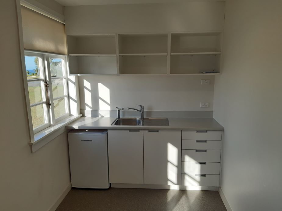 Fort Takapuna - The Barracks - A12, Room 2 - kitchenette