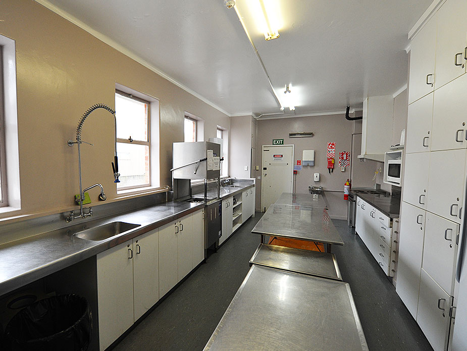 Pukekohe Town Hall Main Hall Kitchen 1