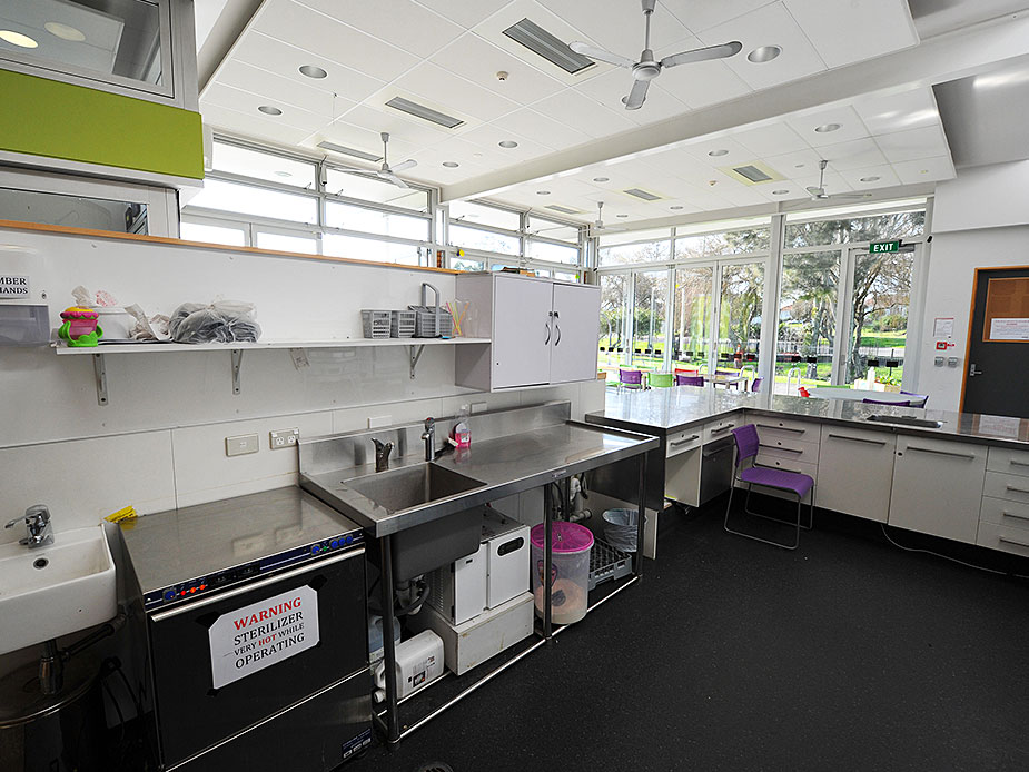 Roskill Youth Zone Kitchen