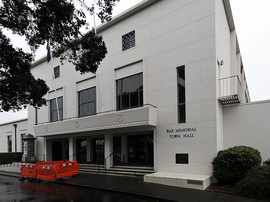 Pukekohe Town Hall Exterior