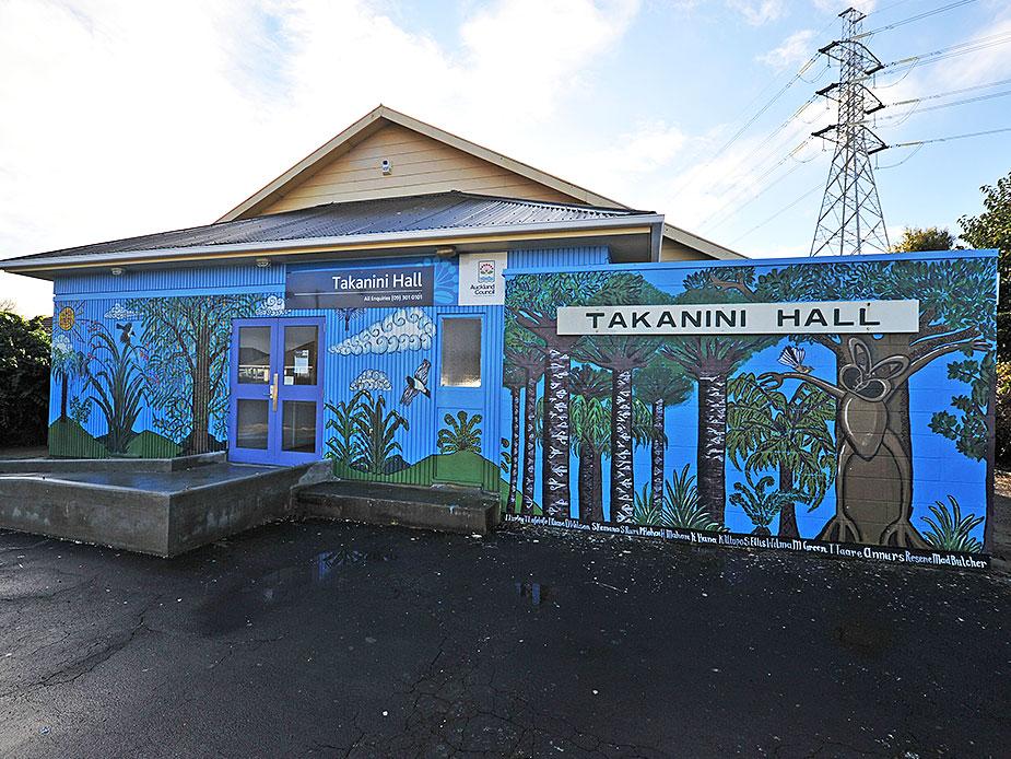 Takanini Hall Exterior