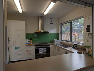 Manutewhau Community Hub - Kitchen