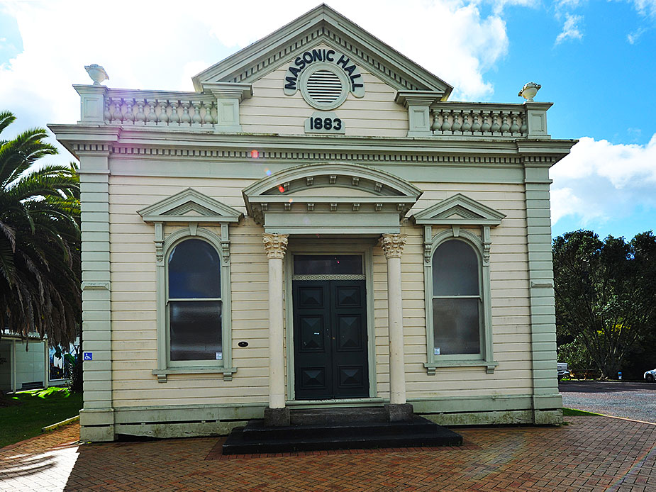 Warkworth Masonic Hall Exterior
