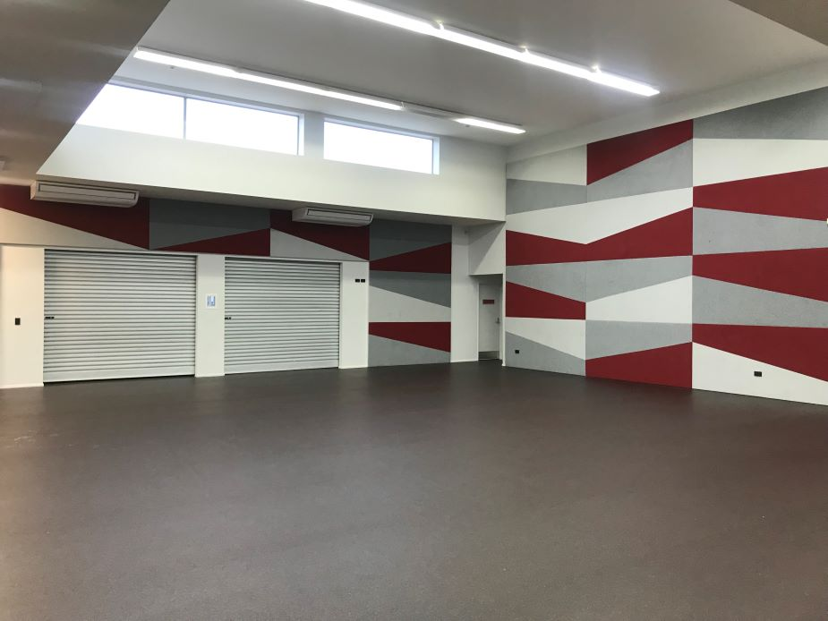 Mt Albert Community and Recreation Centre - Group Exercise Room interior