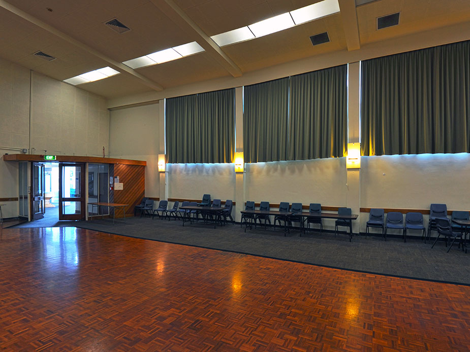Mt Eden War Memorial Hall Main Hall Interior