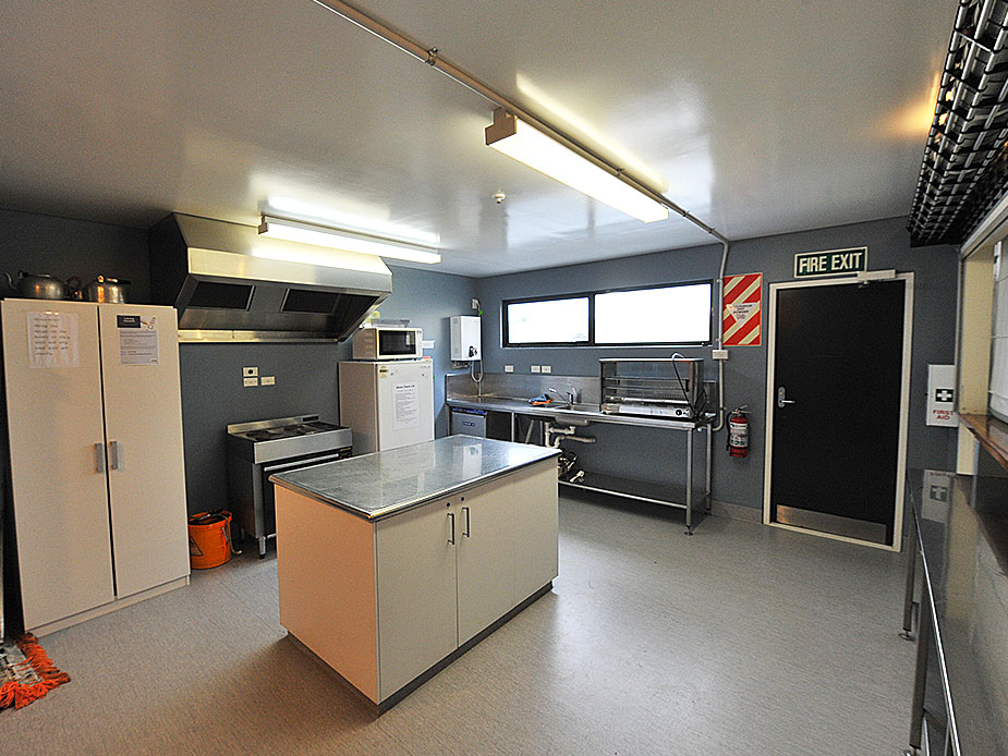 Helensville War Memorial Hall Kitchen