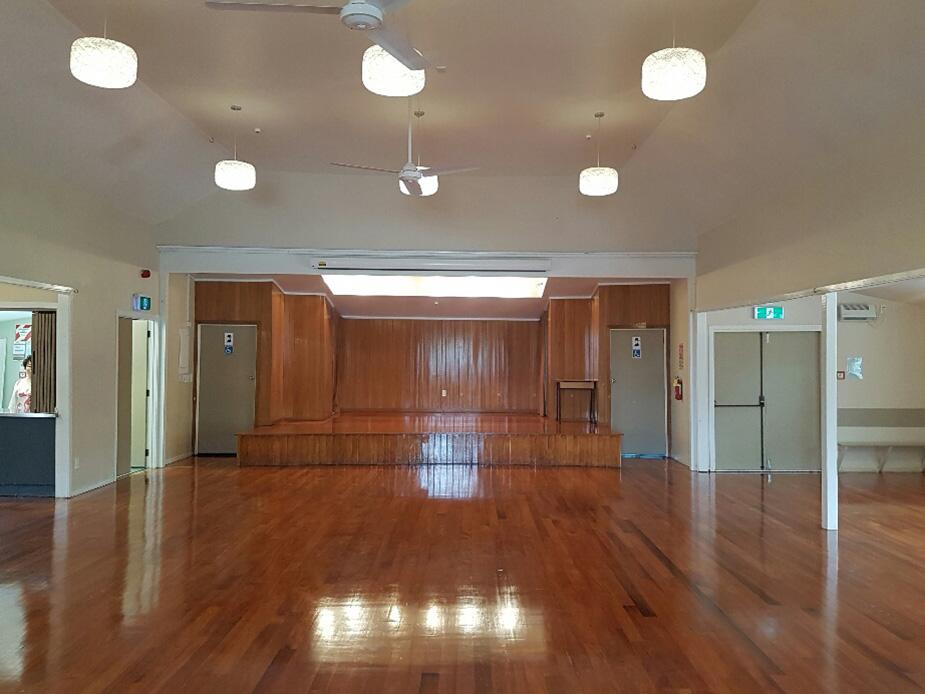 Coatesville Settlers Hall interior