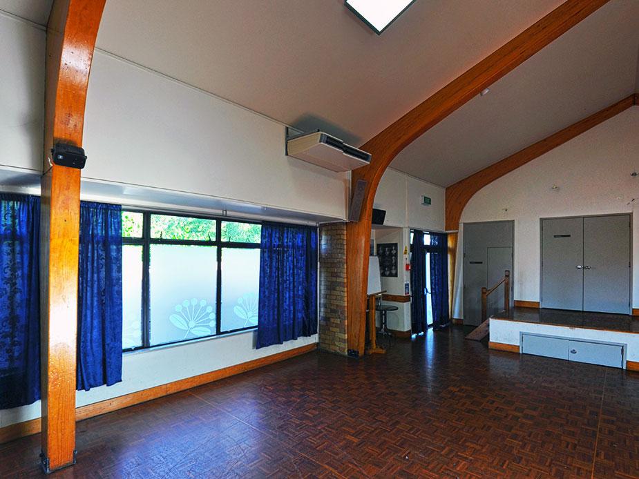 Jack Dickey Community Hall Interior