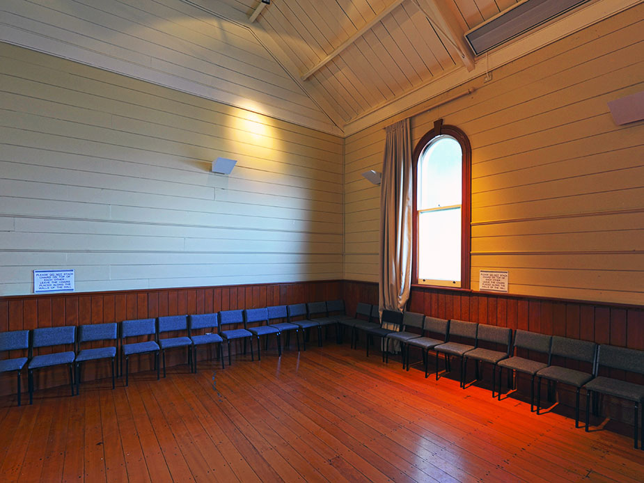 Warkworth Masonic Hall Interior 2