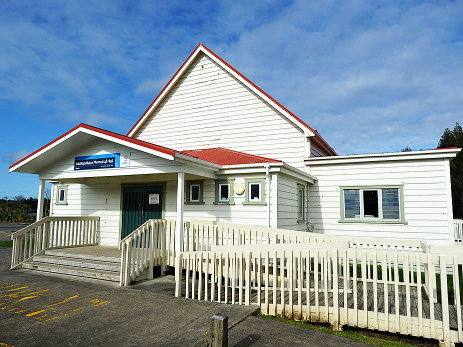 Kaukapakapa Memorial Hall Exterior