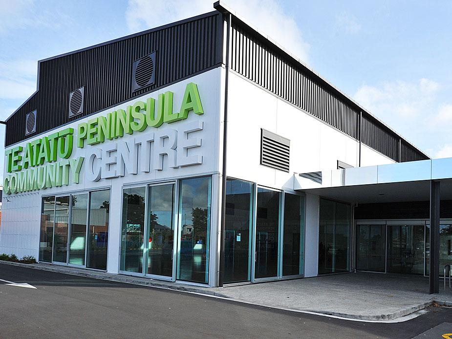 Te Atatu Peninsula Community Centre Exterior