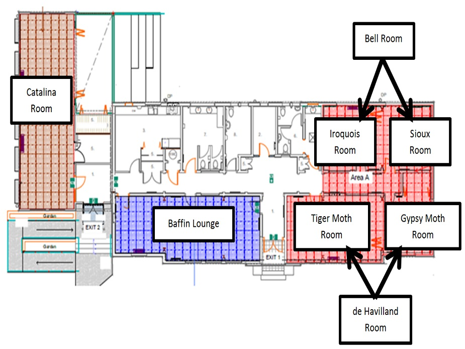 Headquarters floor plan