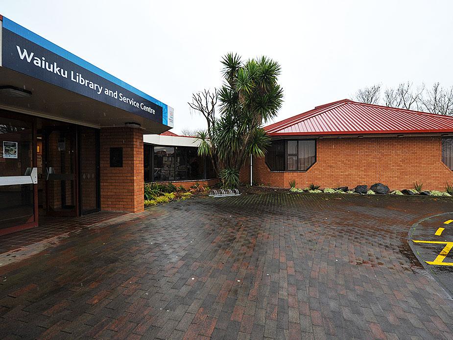 Waiuku Community Hall Exterior 2