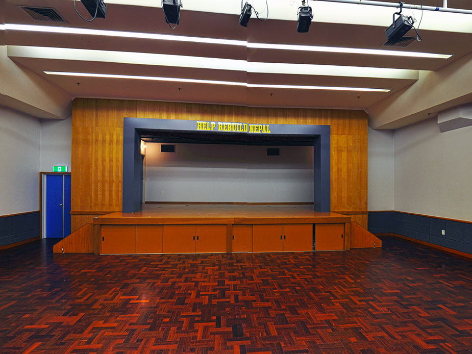Takapuna War Memorial Hall Interior