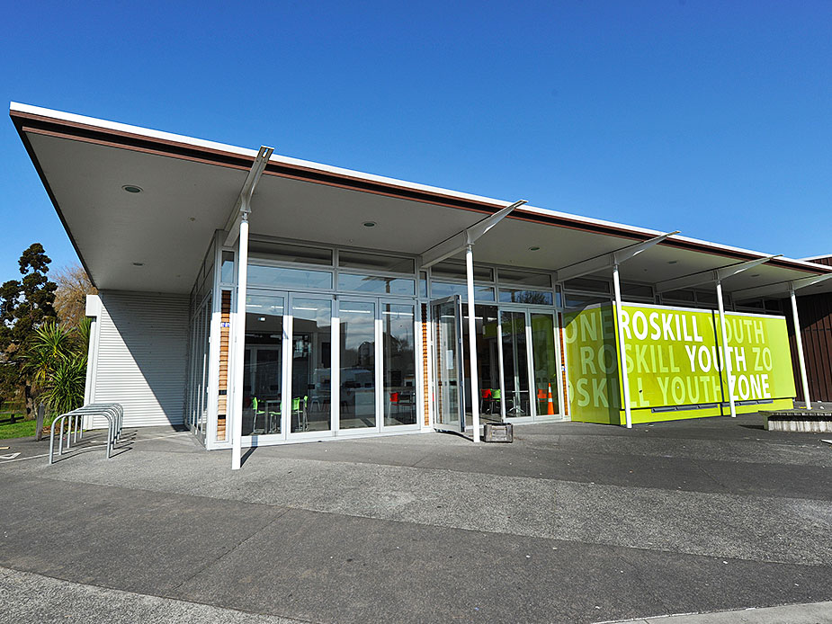 Roskill Youth Zone Exterior