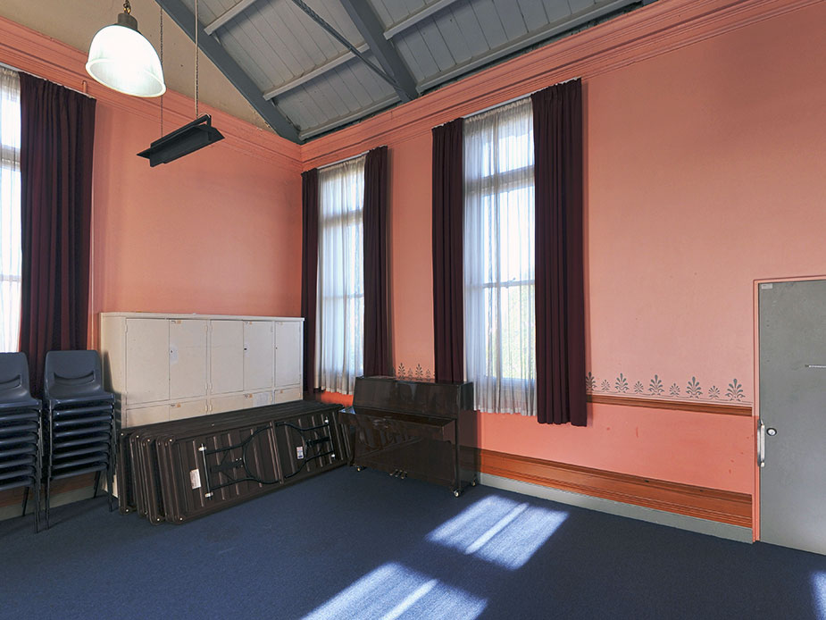 Leys Institute Hall Lecture Room Interior
