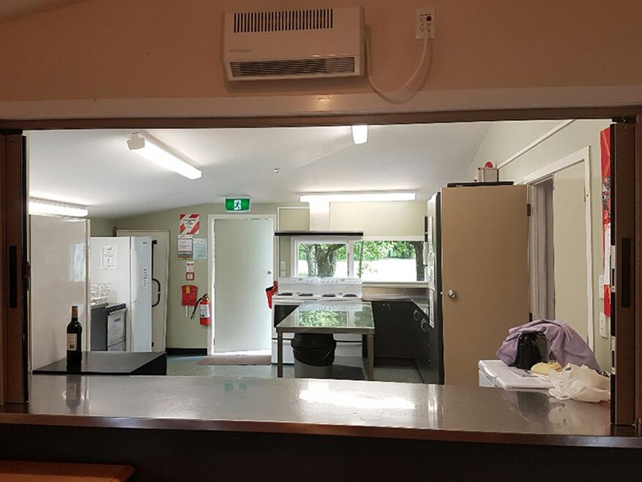 Coatesville Settlers Hall kitchen