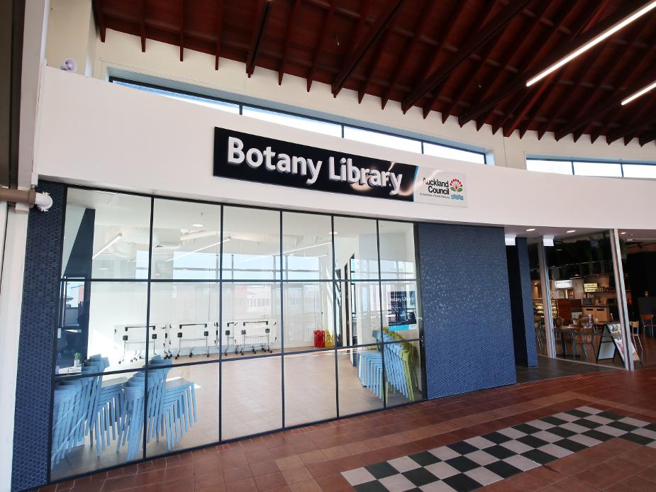 Botany Library Exterior