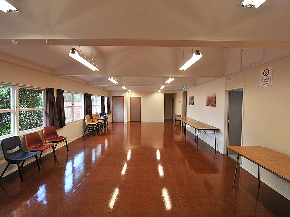 Kawakawa Bay Community Hall Interior