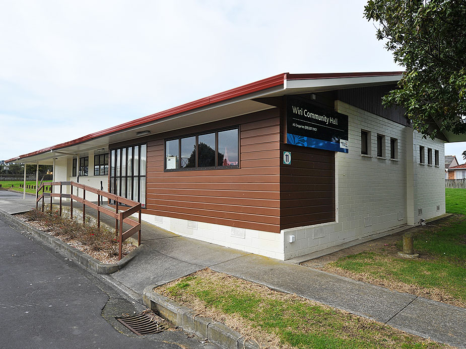 Wiri Community Hall Exterior
