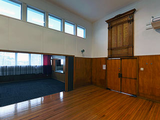 Northcote War Memorial Hall Interior