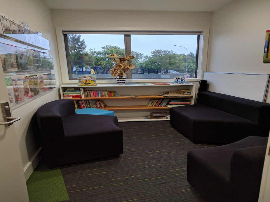 Manutewhau Community Hub - Counselling Room