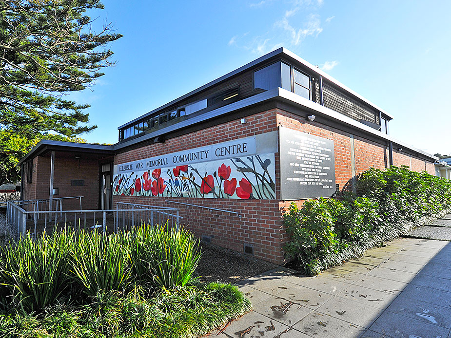 Ellerslie War Memorial Hall Exterior 2