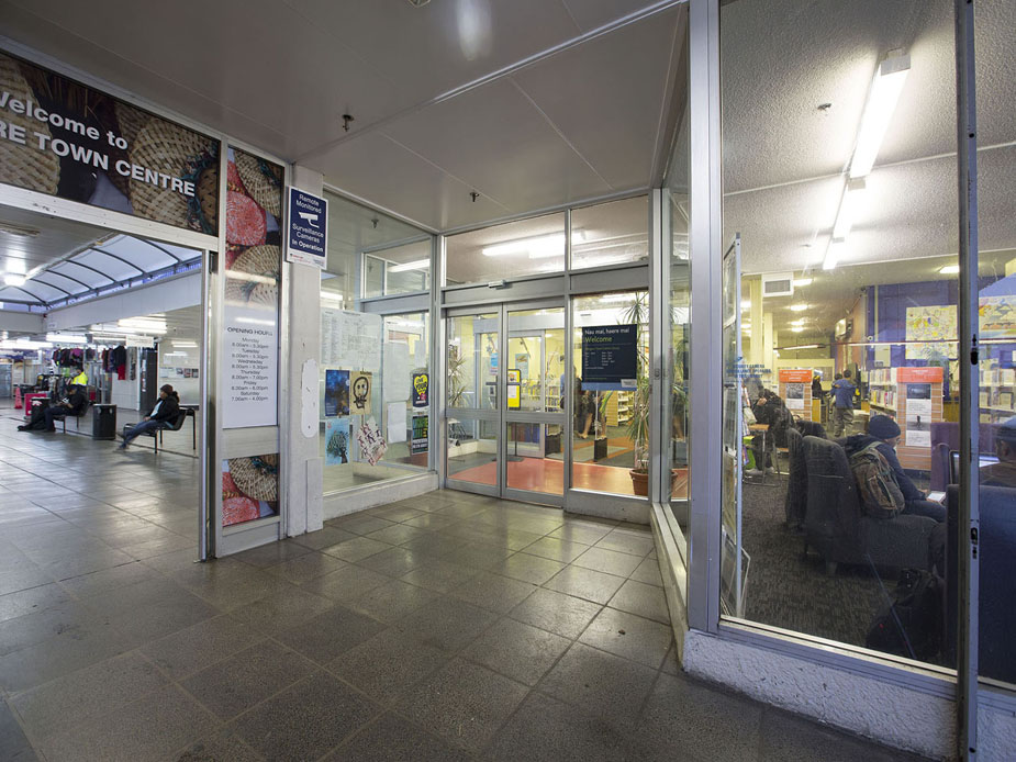 Mangere Town Centre Library Exterior