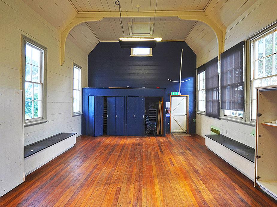 Mangere Old School Hall Interior 2