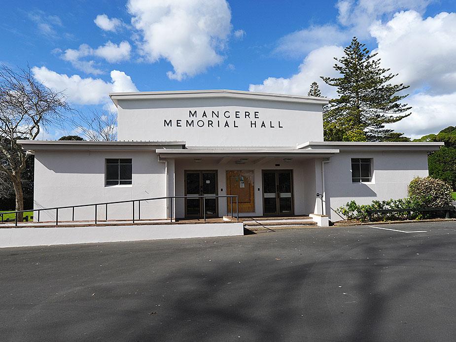 Mangere War Memorial Hall Exterior 2