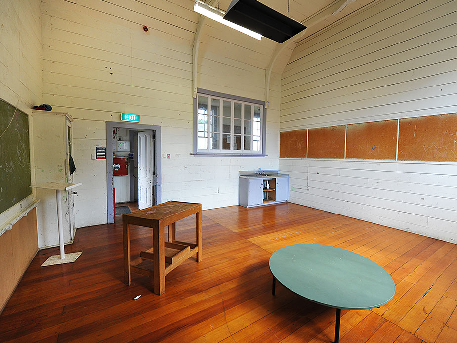 Mangere Old School Hall Interior