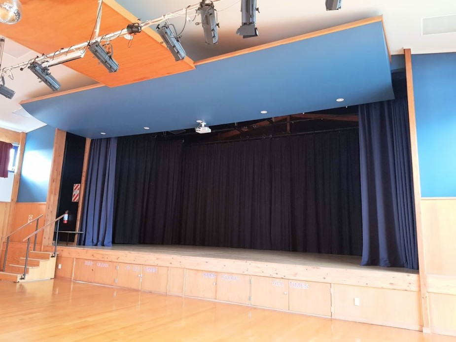 WDCC Main hall stage view