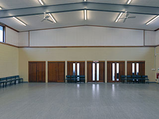 Orewa Community Centre Main Hall Interior
