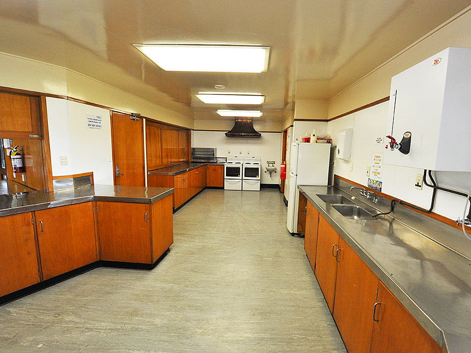 Elizabeth Campbell Hall Kitchen