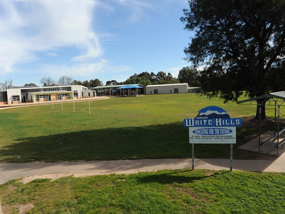White Hills Primary School Oval