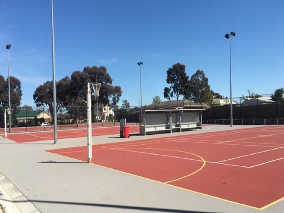 Harry Trott Recreation Reserve Netball Courts