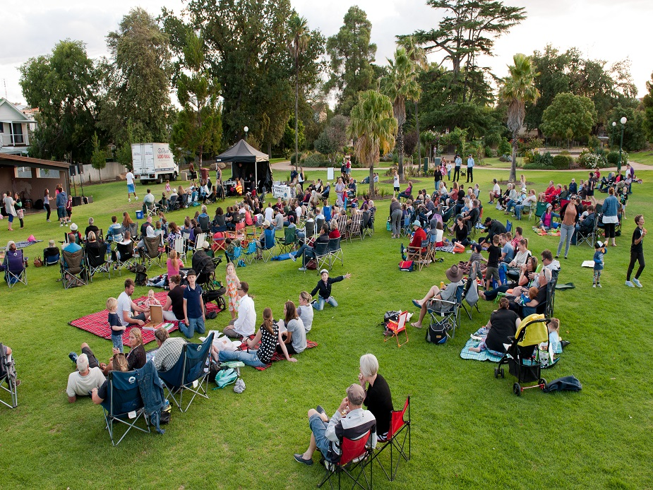 Canterbury Park Gardens Events