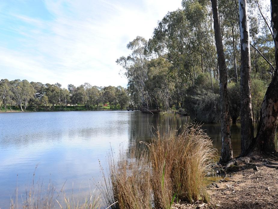 Kennington Reservoir Water