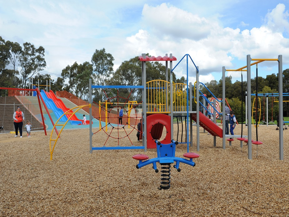 The play space at Cooinda park