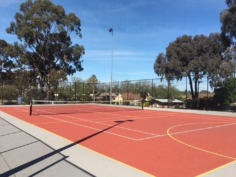 Harry Trott Recreation Reserve Tennis Court