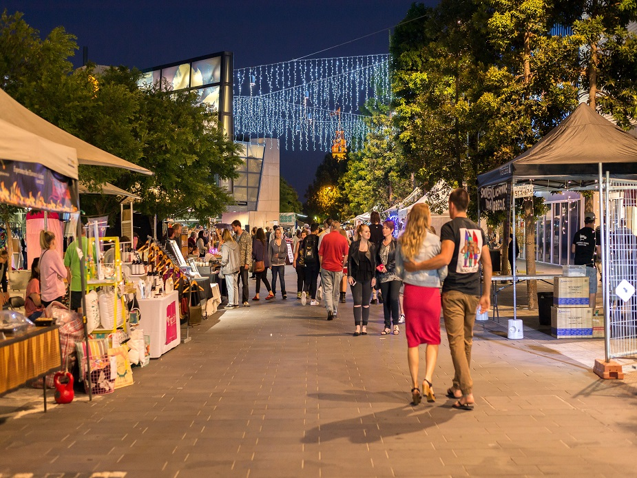 Hargreaves Mall Night Market
