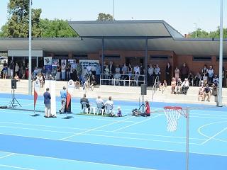 Canterbury Park Netball Courts